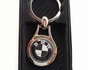 BMW Chrome Key Ring Fob Keyring Gift Idea