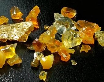 54.75 Unheated & Natural Orange Opal Rough Stone Lot