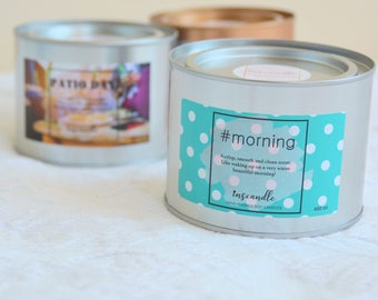 A crisp, smooth and clean scent - #morning