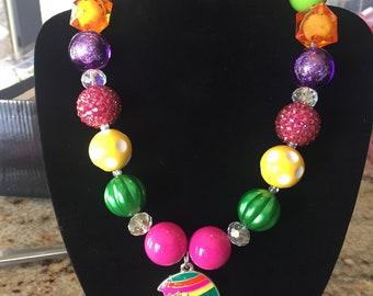 Children's beaded necklace