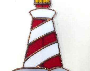 Stained Glass Light House