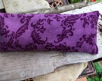 Organic Herb Eye Pillow | Purple Eye Pillow | Yoga | Savasana | Zen | Yoga Lover Gift | Birthday Gift Under 15 | Bridesmaid Gift | Massage