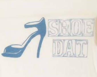 Shoe Dat T-Shirt Womens Large