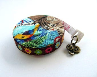 Tape Measure Cats in the Craft Room Retractable Measuring Tape