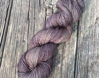No Olives Please - 75/25 SW Merino, Nylon - Sock Yarn - Fingering Yarn - Kettle Dyed Yarn Yarn  - Dyed To Order
