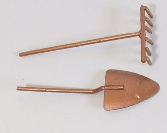 25% off SALE Fairy or gnome Garden miniature gardening tools