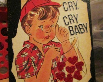 Cry,CryBaby {Original Collage}