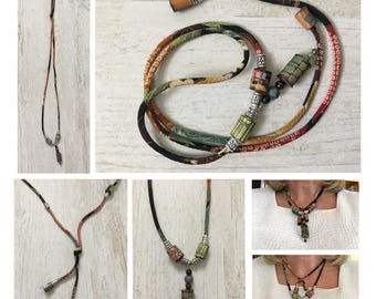 "Juugo Bizu or ""Fifteen Beads"" Necklace"