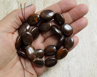Boulder Opal Oval beads