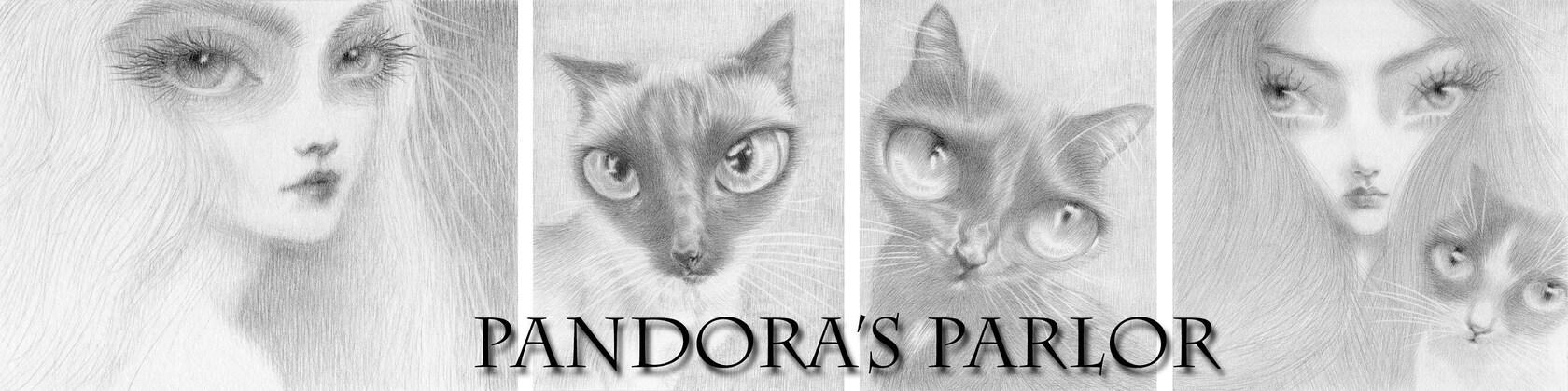Black Cat Art By Diane Irvine Armitage By Pandorasparlor