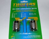 Aanraku Twofers – 1 inch Grinder Bits – Standard Grit // INCLUDES 2 BITS // fits most grinders