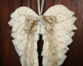 PDF Fabric Angel Wings NO SEW Tutorial no shipping cost