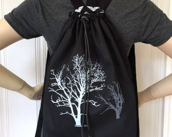 Sycamore Tree Back Pack Black