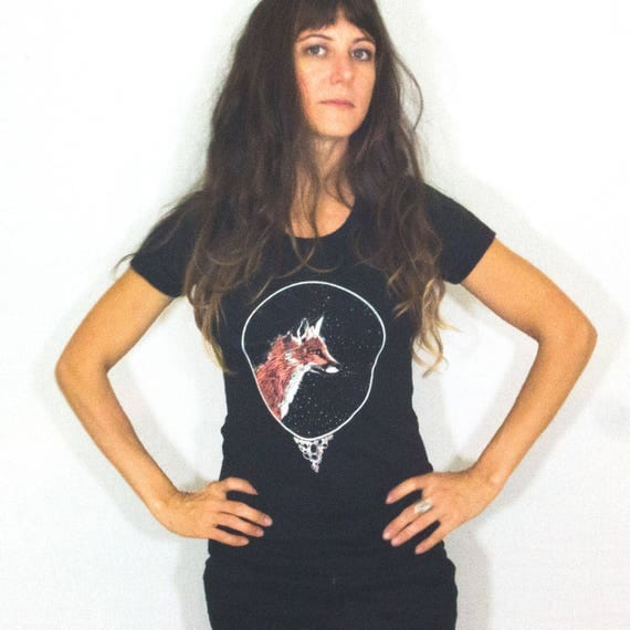 FOX Screen Printed Women's Tee Shirt