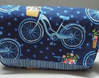 Fanny Pack Bag - Utility Bag - Jogging Bag - Hip Bag Travel Bag Farmers Market Bicycles Fabric