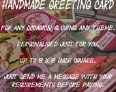 Wendy's Custom Greeting Card