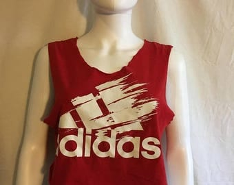Closing Shop 40%off SALE ADIDAS crop top t shirt