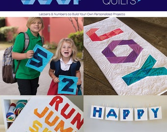Alphabet Soup: Letters and Numbers to Build Your Own Personalized Projects