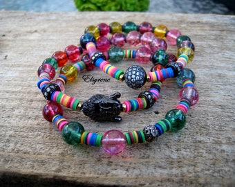 Set 3 Buddha Bracelets-Chakra prayer beads Bracelet-Yoga,Mala,Gypsy Friendship bracelet-prayer beads-Hippie,Bohemian chic Bracelet-Buddhist