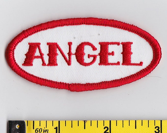 Iron On Patches - NAME TAG Angel