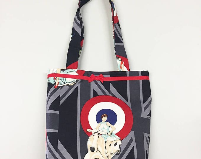 Tote Bag - Mod Scooter Girls