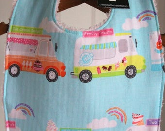 Baby Bib...Ice cream truck