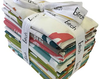 Birch Fabrics ORGANIC FARM FRESH Fat Quarter Bundle 20 Precut Cotton Fabric Quilting FQs Jay-Cyn Designs