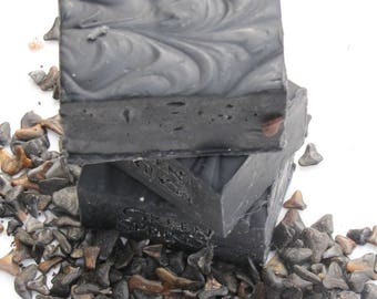 Bamboo Activated Charcoal Facial Soap - Organic and  Eco-friendly
