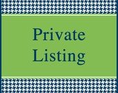 Private listing for Marnette Hurt