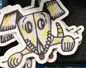 """3"""" Sticker: Muertos Dog"""