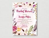 Floral Boho Bridal Shower...