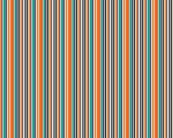 ON SALE Penny Rose Fabrics Trick or Treat Stripe Multi