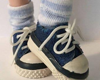 Powder Blue Short Socks...For Blythe...