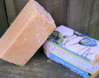 Serenity Mineral Spa: Himalayan Salt & Goat's Milk Soap - Lavender, Rosewood