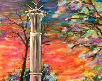 South of France Art - Art Print - Wall Art - The Camargue Cross - Saintes Marie de la Mer, France - Leah Reynolds