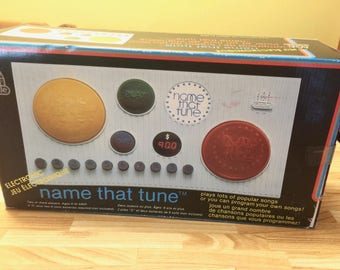 Vintage 1979 Name that Tune Electronic Game Memory Musical Song Game Educational