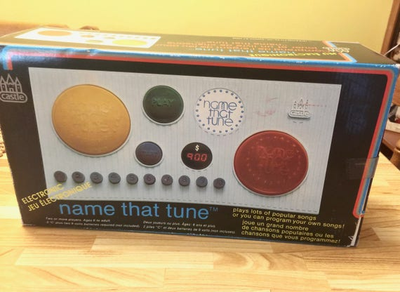 Name That Tune: Vintage 1979 Name That Tune Electronic Game Memory Musical