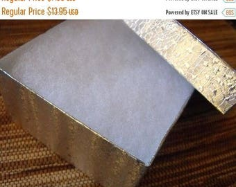New Years Sale 10 Pack Silver Foil Swirl Color 3.5X3.5X2 Deep Cotton Filled Jewelry Retail Gift Boxes