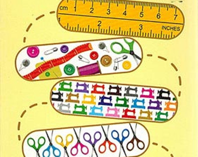 Featured listing image: Sewing Themed Bandages Set