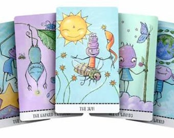 Monstarot Tarot Deck - Limited 1st Edition signed and numbered - Joanna Nelson Studio inner child
