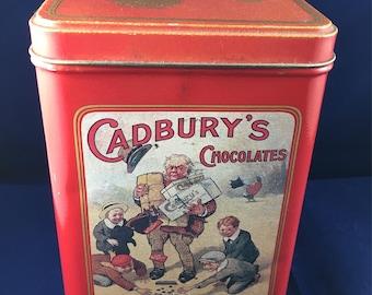 Cadbury Mounds advertising tin