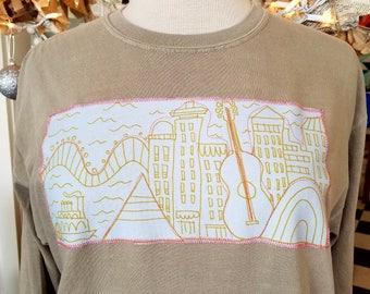Memphis city scape tshirt