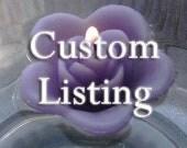 Custom listing for Manuela