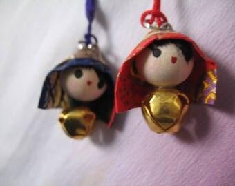 Sweetheart Couple's Omamori Amulet Good Luck Charm