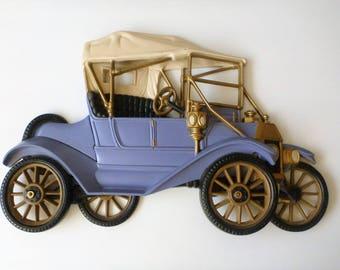 Model T ford car wall decor. nursery wall art. car decor. ford resin model T. model T ford wall hanging. Wall decor. Car decor