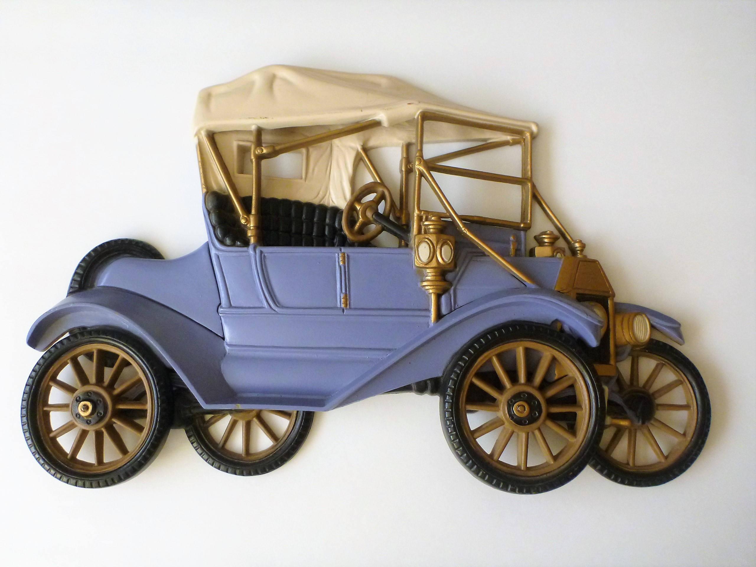 Model T Ford Car Wall Decor Nursery Wall Art Car Decor Ford Resin