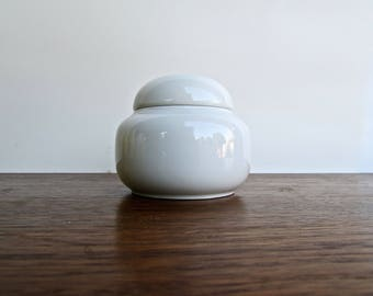 Hans Theo Baumann Designed Sugar Bowl for Arzberg, Vintage Modern German Porcelain, Iconic Sugar Bowl