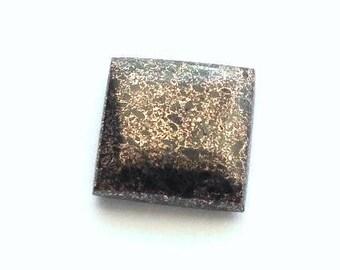 Square Copper Firebrick Cabochon