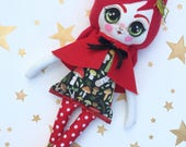 SALE Cricket the Whimsy Doll