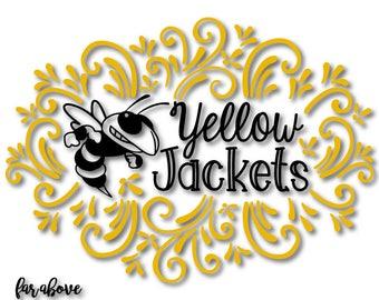 Yellow Jacket Logo Design